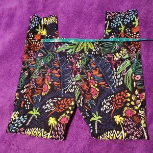 Elliott Lauren sz 2 Women's Pants Multi Color
